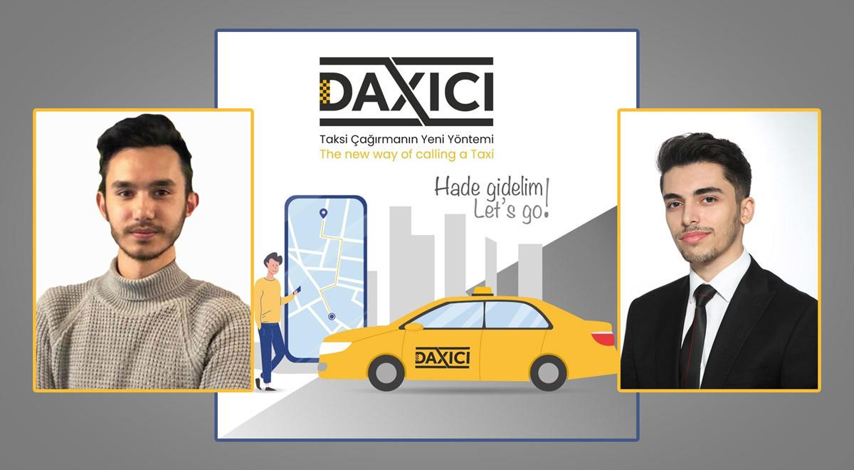 "New Taxi Application Named ""Daxici"" from EMU Students"